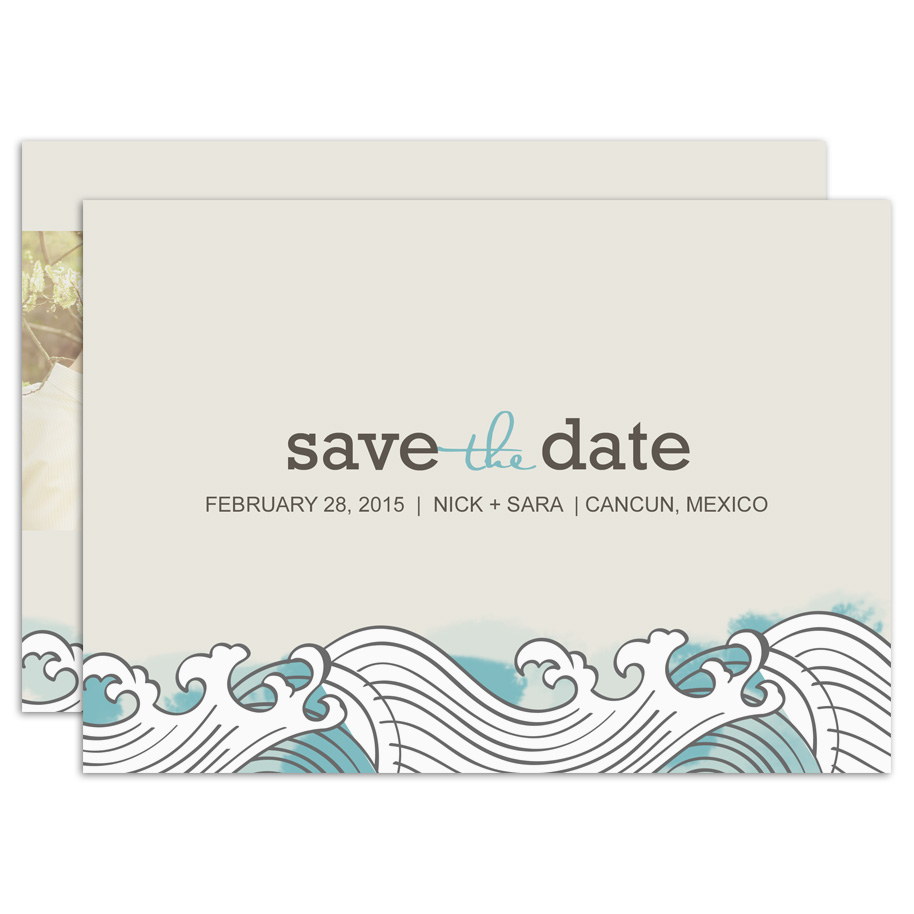 HP Wedding 011 Save the Date